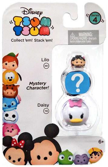 Disney Tsum Tsum Series 4 Lilo & Daisy 1-Inch Minifigure 3-Pack