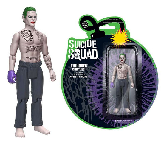 Funko DC Suicide Squad The Joker Action Figure [Shirtless]