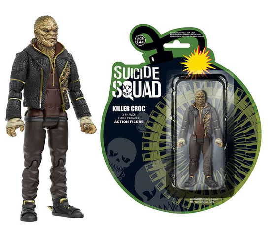 Funko DC Suicide Squad Killer Croc Action Figure