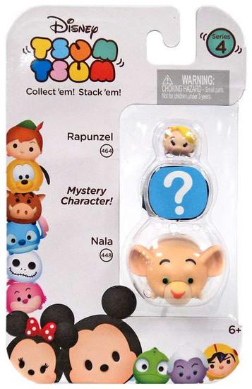 Disney Tsum Tsum Series 4 Rapunzel & Nala 1-Inch Minifigure 3-Pack