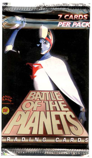 Battle of the Planets Trading Card Pack