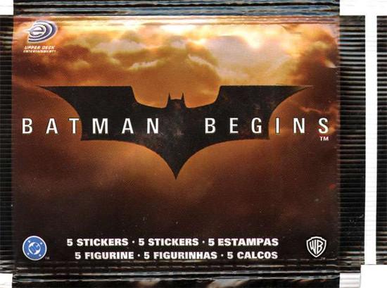 Batman Begins Sticker Pack [5 Stickers!]
