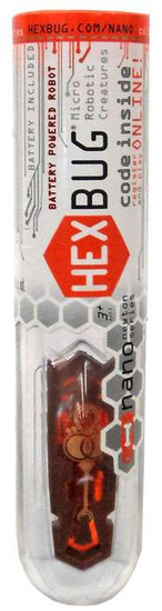 Hexbug Micro Robotic Creatures Newton Nano [Orange]