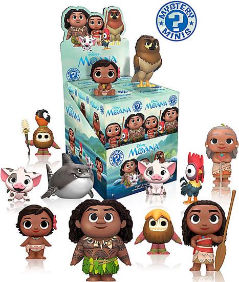 Funko Disney Mystery Minis Moana Mystery Box [12 Packs]