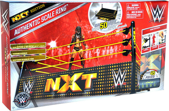 WWE Wrestling NXT Edition Authentic Scale Ring [Figures Not Included]