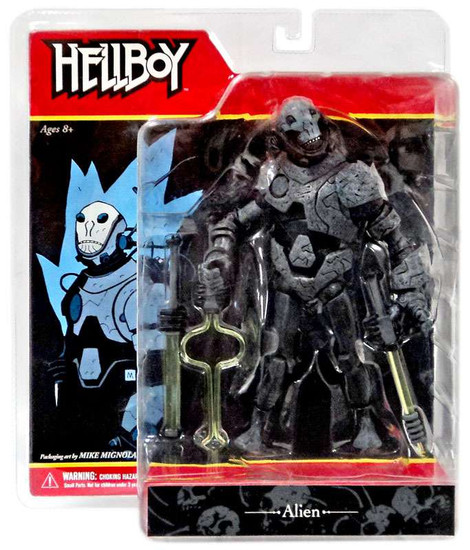 Hellboy Comic Book Series 2 Alien Action Figure