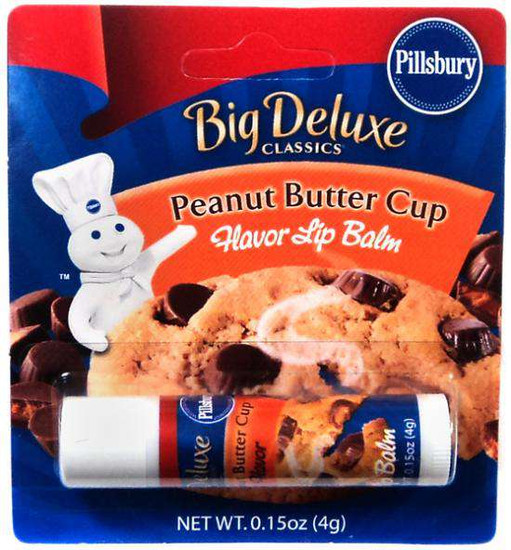 Pillsbury Peanut Butter Cup Cookies Flavor Lip Balm