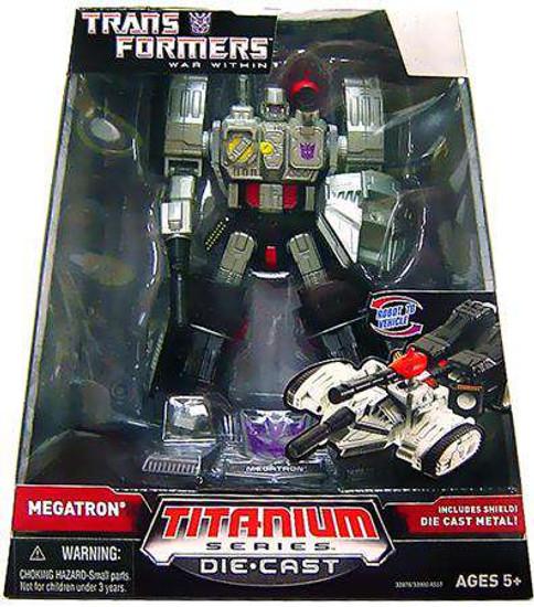"Transformers War Within TItanium Series Megatron 6-Inch 6"" Diecast Figure [Damaged Package]"