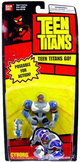 Teen Titans Go! Cyborg Action Figure [Poseable]