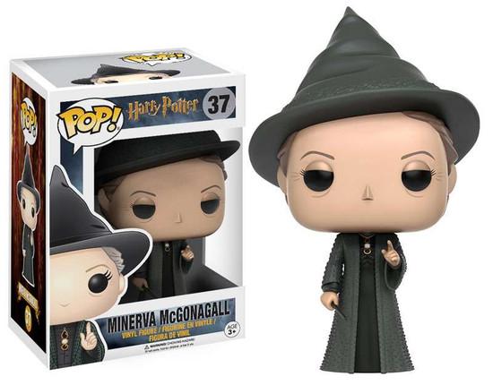 Funko Harry Potter POP! Movies Minerva McGonagall Vinyl Figure #37
