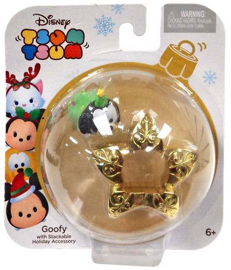 Disney Tsum Tsum Holiday Series Goofy 1-Inch Minifigure Pack