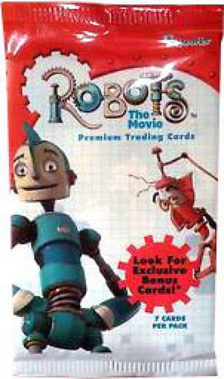 Robots Trading Card Pack