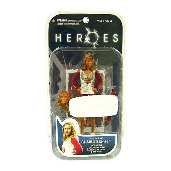 Heroes Claire Bennet Exclusive Action Figure [Fire Rescue]