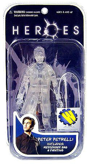 Heroes Series 2 Peter Petrelli Exclusive Action Figure [Invisible]