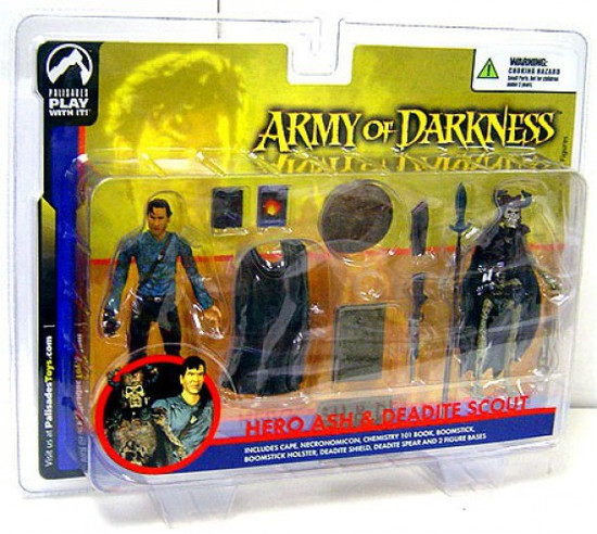 Army of Darkness Series 1 Hero Ash & Deadite Scout Action Figure 2-Pack