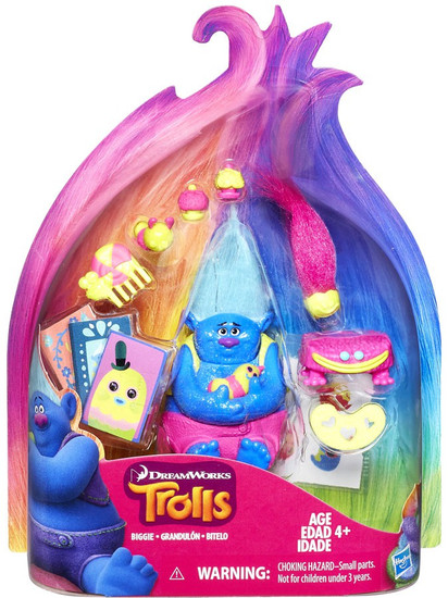 Trolls Biggie Exclusive Action Figure