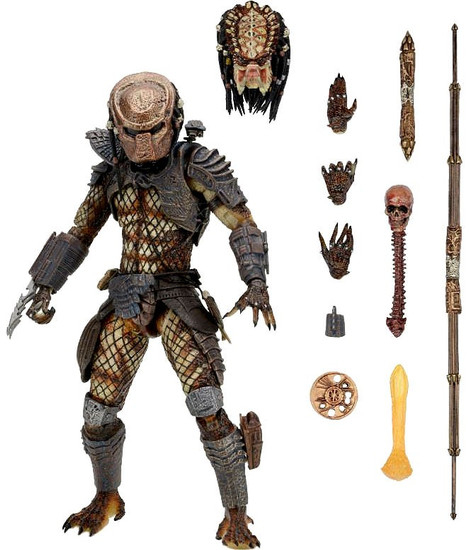 NECA Predator 2 City Hunter Predator Action Figure [Ultimate Version]