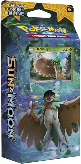 Pokemon Trading Card Game Sun & Moon Forest Shadow Theme Deck [Decidueye]