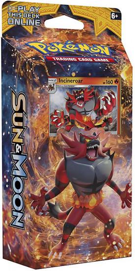 Pokemon Trading Card Game Sun & Moon Roaring Heat Theme Deck [Incineroar]