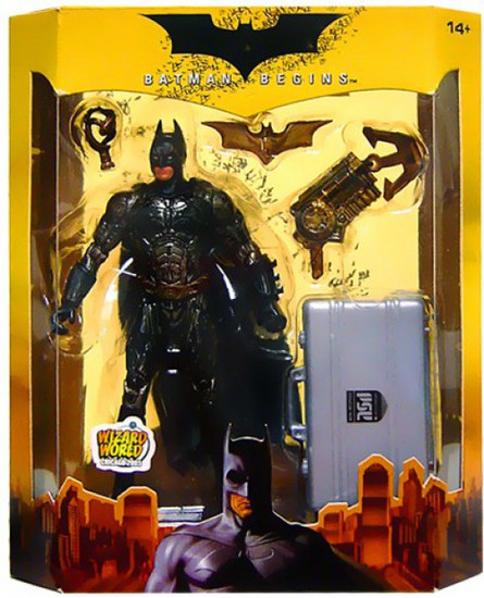 Batman Begins Prototype Suit Batman Exclusive Action Figure