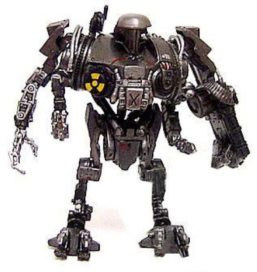 RoboCop One Coin PVC Trading Figure Series 1 Cain PVC Figure [Robocop 2]
