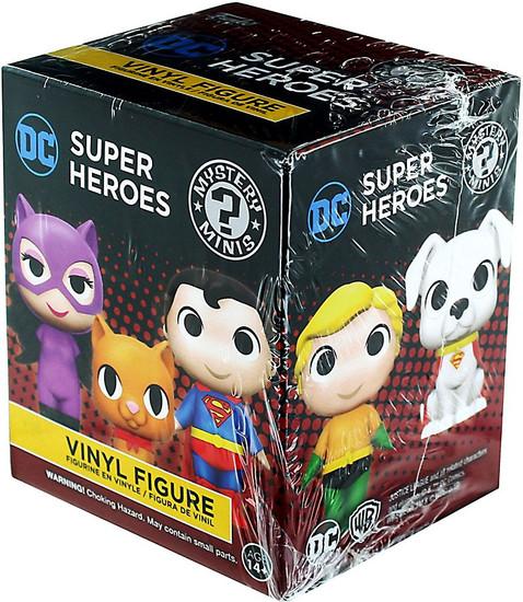 Funko Mystery Minis DC Super Heroes & Pets Mystery Pack [1 RANDOM Figure]