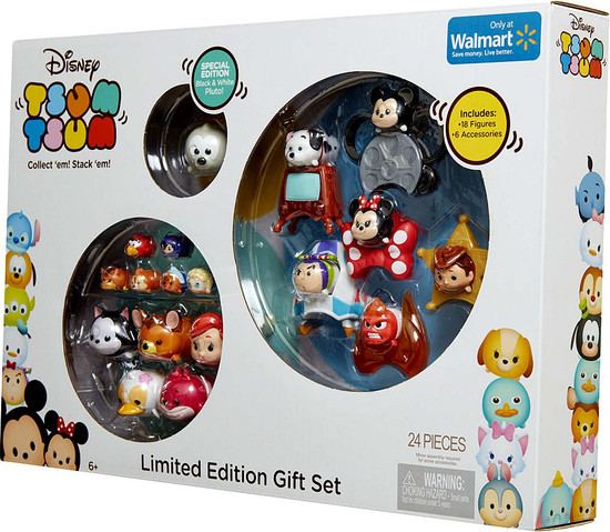 Disney Tsum Tsum Limited Edition Gift Set Exclusive Mini Figure 24-Pack