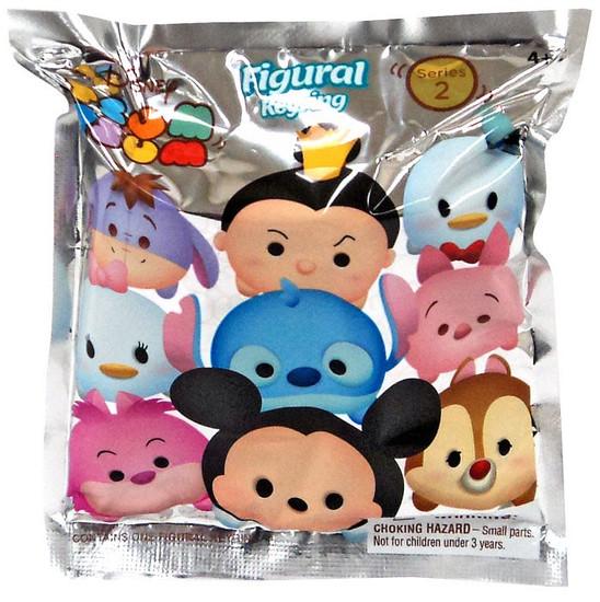 Disney 3D Figural Keyring Tsum Tsum Series 2 Mystery Pack [1 RANDOM Figure]