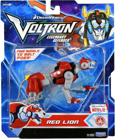 Voltron Legendary Defender Red Lion Basic Action Figure