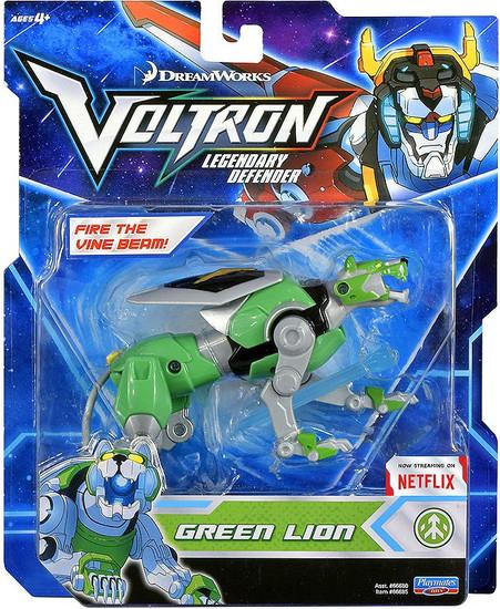 Voltron Legendary Defender Green Lion Basic Action Figure