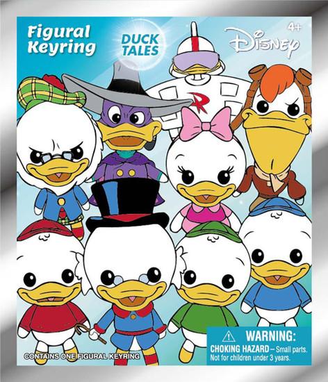 Disney 3D Figural Keyring DuckTales Mystery Box [24 Packs]