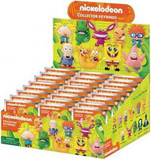 Nickelodeon 3D Figural Keyring Series 1 Mystery Box [24 Packs]
