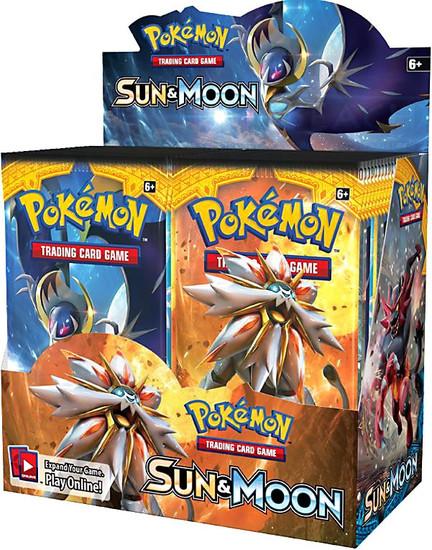 Pokemon Trading Card Game Sun & Moon Base Set Booster Box [36 Packs]