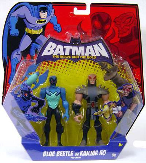 Batman The Brave and the Bold Blue Beetle & Kanjar Ro Action Figure 2-Pack