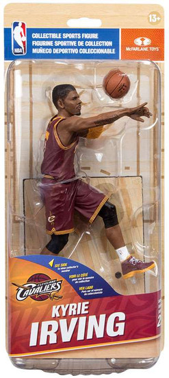 McFarlane Toys NBA Cleveland Cavaliers Sports Picks Series 29 Kyrie Irving Action Figure [Red Jersey]