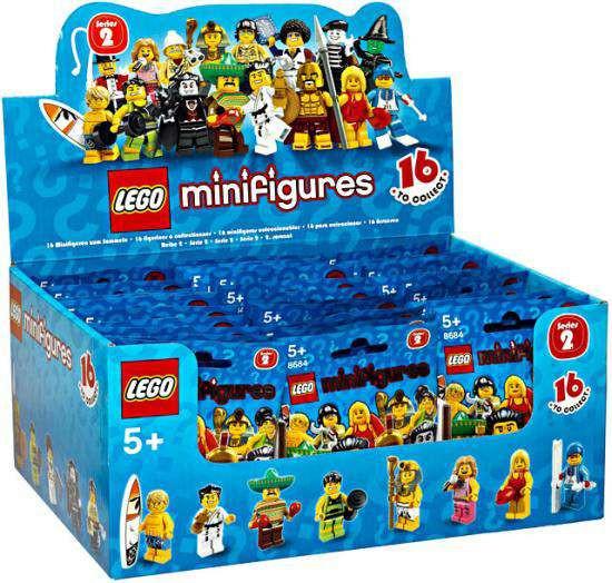 LEGO Minifigures Series 2 Mystery Box [60 Packs]