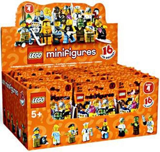 LEGO Minifigures Series 4 Mystery Box [60 Packs]