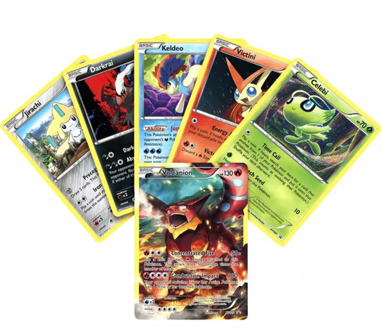 Pokemon Volcanion Mythical Collection TCG Box Sealed 5 Packs 6 Foil Holo Promo