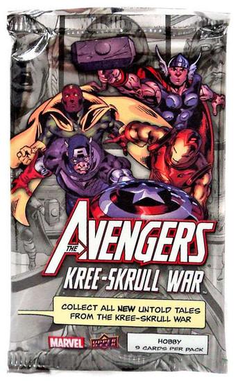 Marvel The Avengers Kree-Skrull War Trading Card Pack