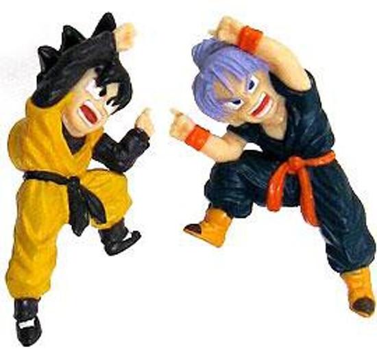Dragon Ball Kid Trunks & Kid Goten PVC Magnet