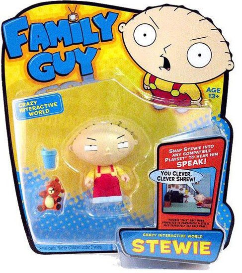 Family Guy Voice Activated Series 1 Stewie Action Figure