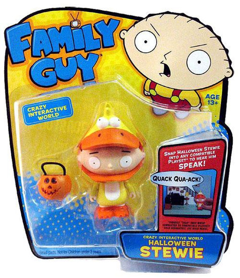 Family Guy Voice Activated Series 1 Stewie Action Figure [Halloween]