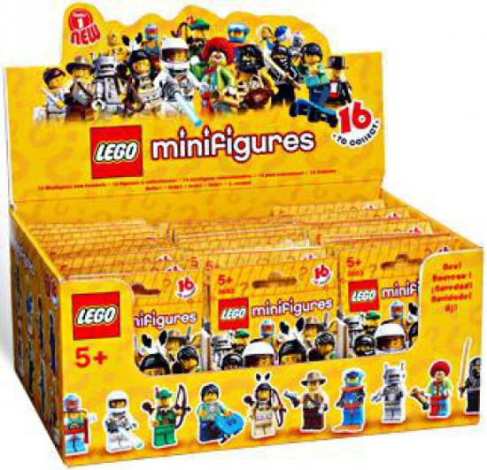 LEGO Minifigures Series 1 Mystery Box [60 Packs]