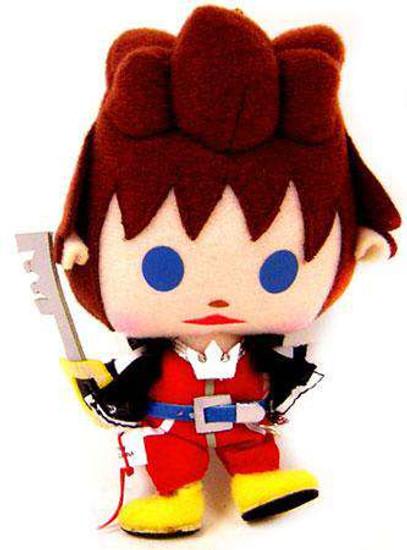 Disney Kingdom Hearts Sora Plush Keychain