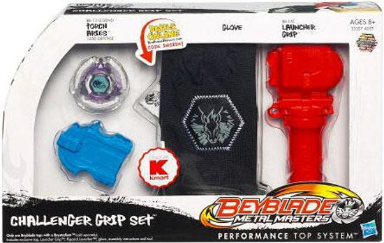 Beyblade Metal Masters Challenger Grip Set Exclusive