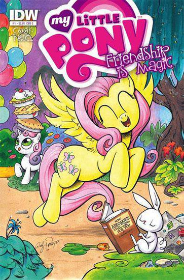 My Little Pony Friendship is Magic #1 Comic Book [Cover E Fluttershy]