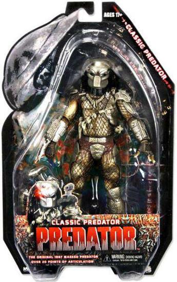 NECA Predators Series 3 Classic Predator Action Figure [Masked, Damaged Package]