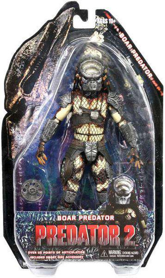 NECA Predator 2 Series 4 Boar Predator Action Figure [Damaged Package]