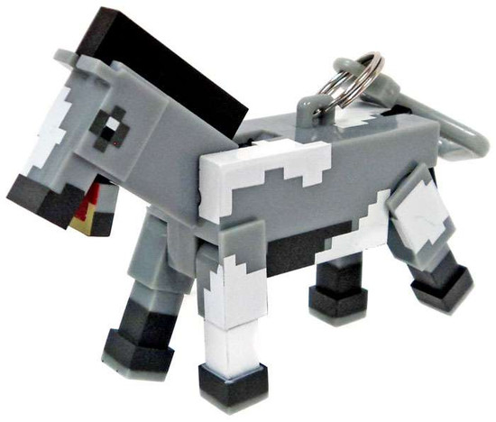 Minecraft Hangers Series 3 Horse 3-Inch Keychain [Loose]