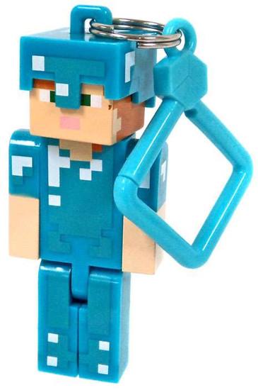 Minecraft Hangers Series 3 Diamond Alex 3-Inch Keychain [Loose]
